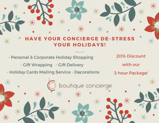 20% discount on all the Holiday help you need